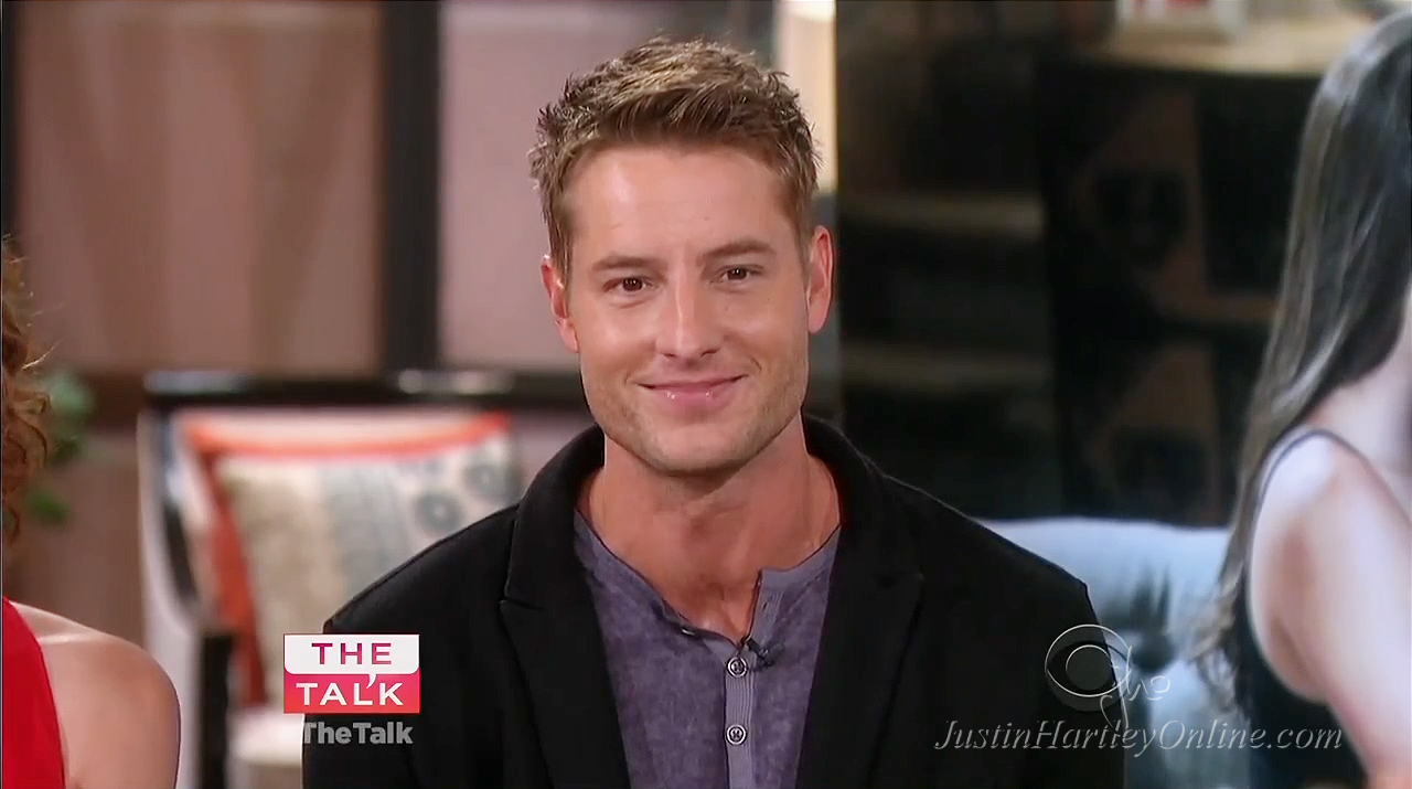Young and the restless star justin hartley to adam newman